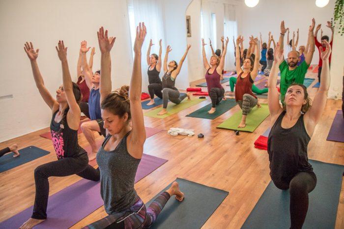 Madrid Taller Movimiento de yoga