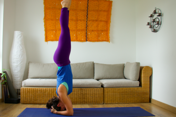 Yin yoga. Invierno