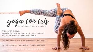 Taller intensivo donostiarra san sebastian yoga con cris