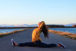 yoga con cris atreverse y crear hanumanasana
