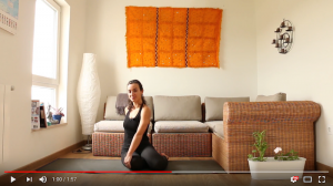 Yin yoga avance
