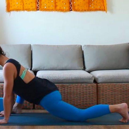 yin. restablecer la postura