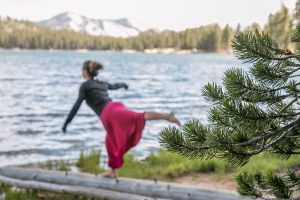 Practicar en Yosemite en el log