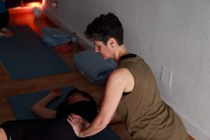 Santander taller yoga con cris workshop