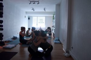 yoga con cris workshop taller santander