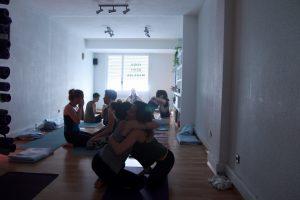 yoga con cris workshop taller santander