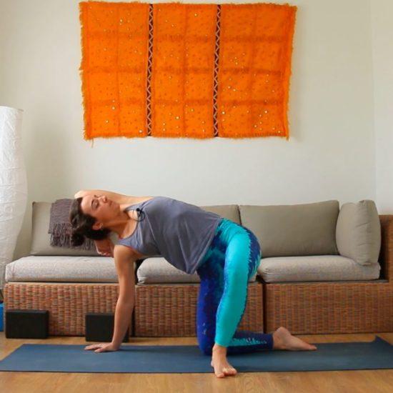 dulce y suave series yoga con ris