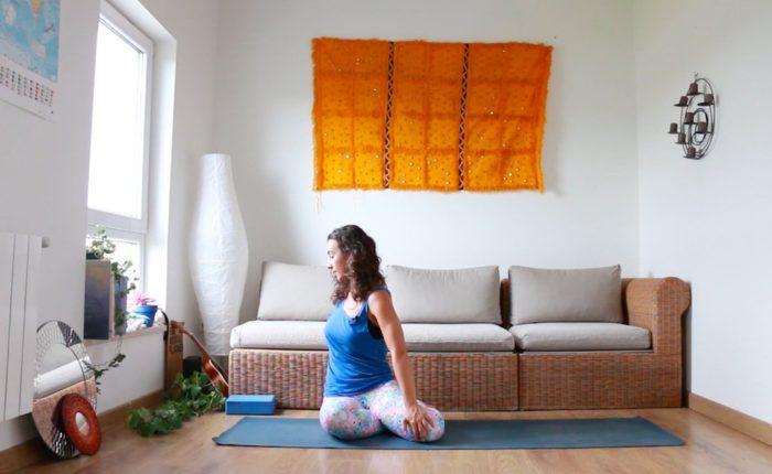 yoga embarazo tercer trimestre retencion líquidos