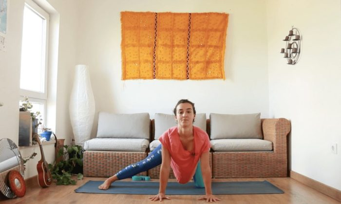 Resetear Caderas yoga con cris