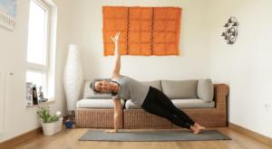 Vashistasana yoga con cris