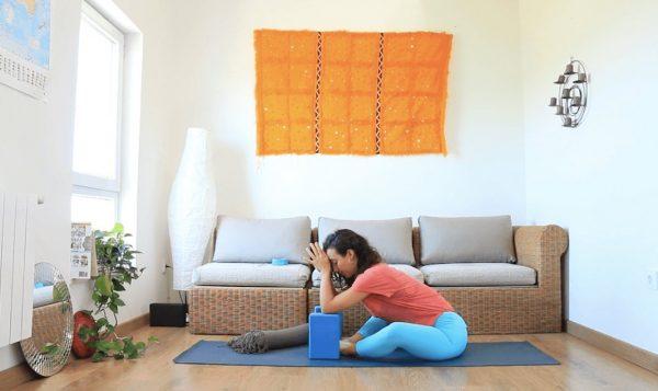 Date una tregua clase online yoga con cris