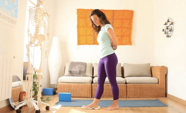 pies para que os quiero yoga con cris