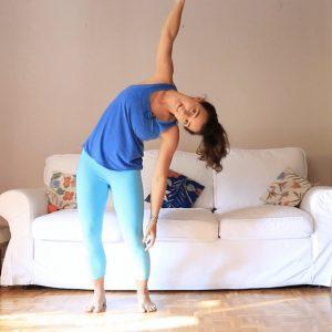 Despertar. Movimiento nutritivo. yoga con cris