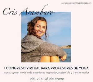Cris Aramburo Congreso Virtual Profesores Yoga