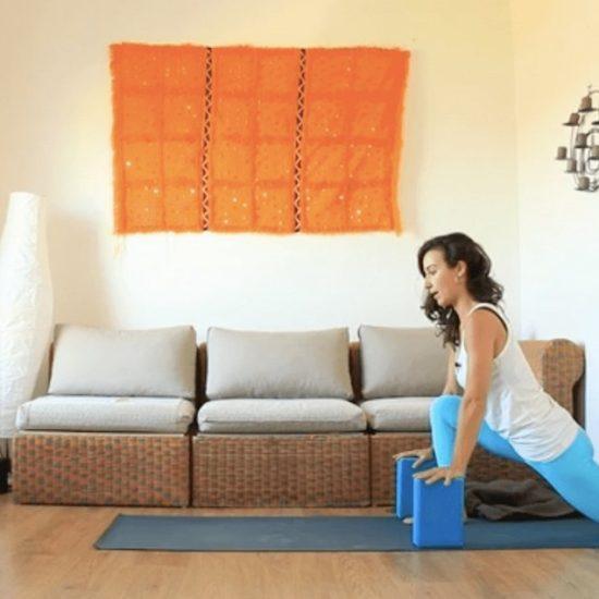Yoga con Cris Clase Online Arqueos con Soporte
