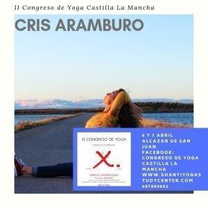 yoga con cris congreso Castilla la Mancha
