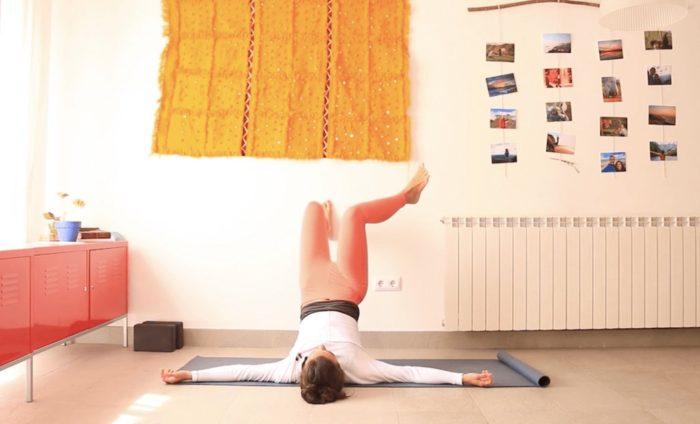 yin para la espalda baja lumbar y caderas