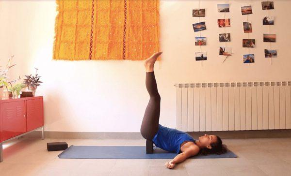 Refrescar el cuerpo clase yoga online