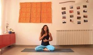 declaracion de intenciones clase yoga con cris online