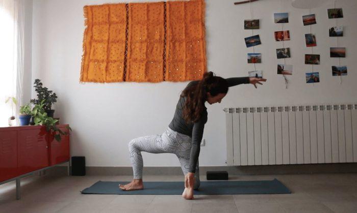 haz que cuente clase online yoga con cris