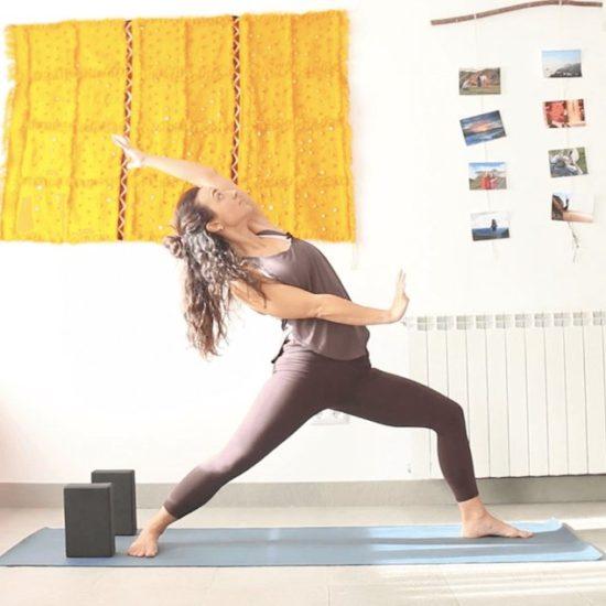 Crear Espacio Clase online yoga con cris