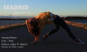Madrid Enero Yoga con Cris