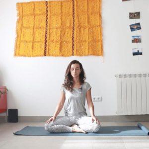 encender el fuego interior clase yoga con cris online