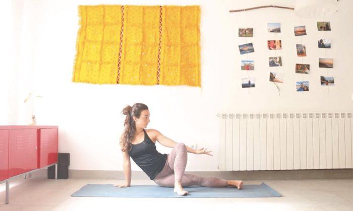 despejar la mente aclarar la vision clase online yoga con cris