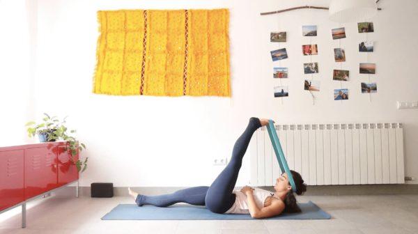 Descompresión Clase yoga online yoga con cris