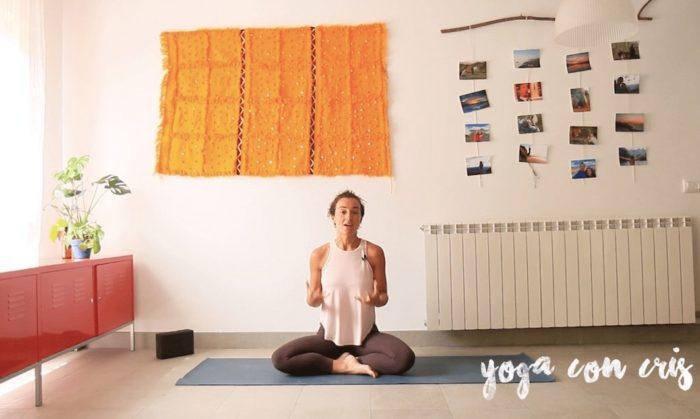 Septiembre clases yoga con cris online