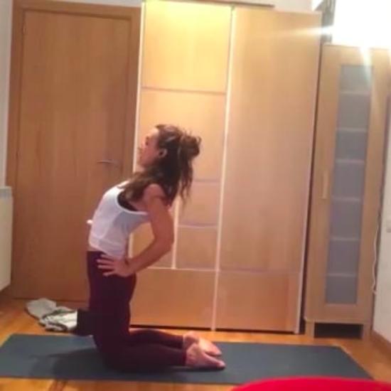 buenos días aula online, clase yoga con cris online