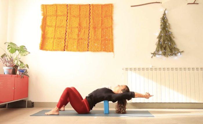 Celebrar tu centro yoga online con cris