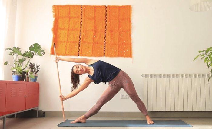 si yo tuviera una escoba clase online yoga con cris