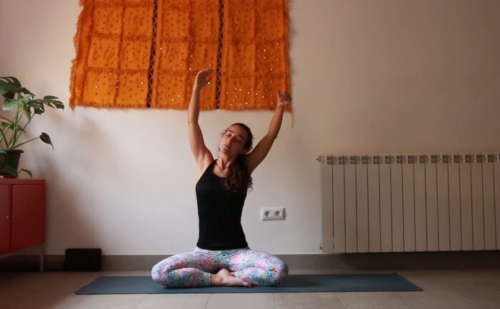 Meditación Primavera yoga con cris online