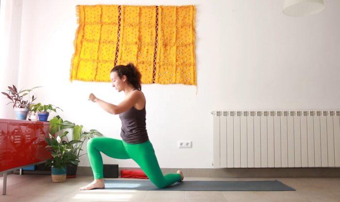que corra la savia vinyasa movilidad yoga con cris