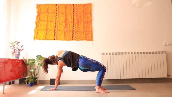 Pausa para moverme yoga con cris vinyasa movilidad online