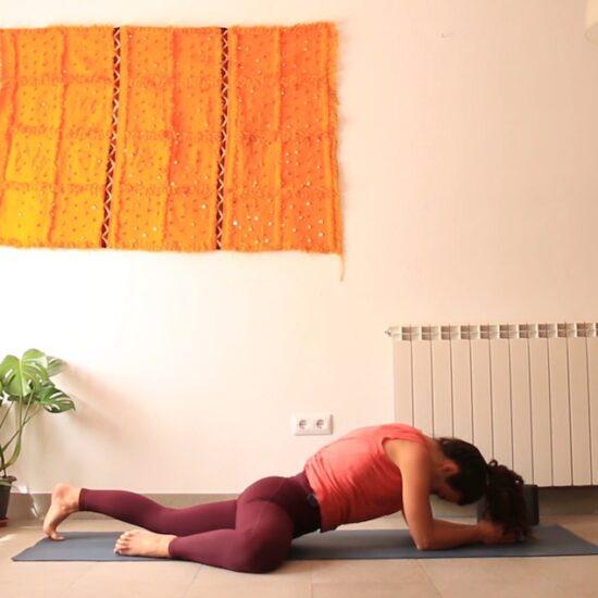 Recibir lo bueno yoga con cris online yin yoga