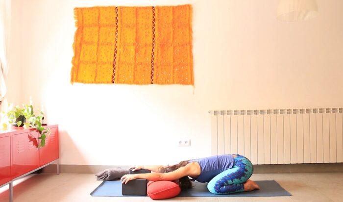 Savasana clase online yoga con cris