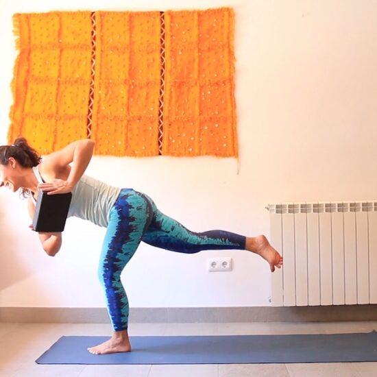 Equilibrio y Flexibilidad yoga con cris online