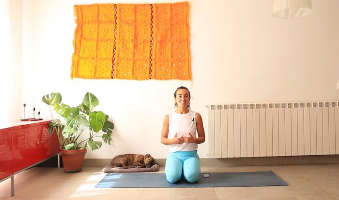 yoga online con cris aramburo